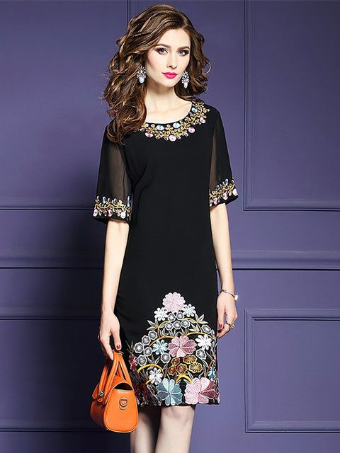 Buy Floral Dresses Midi Dresses For Women from Misslook at Stylewe. Online Shopp... 1