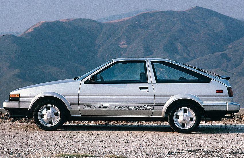 1985 Toyota Corolla Gts Hatchback Toyota Corolla Toyota Corolla