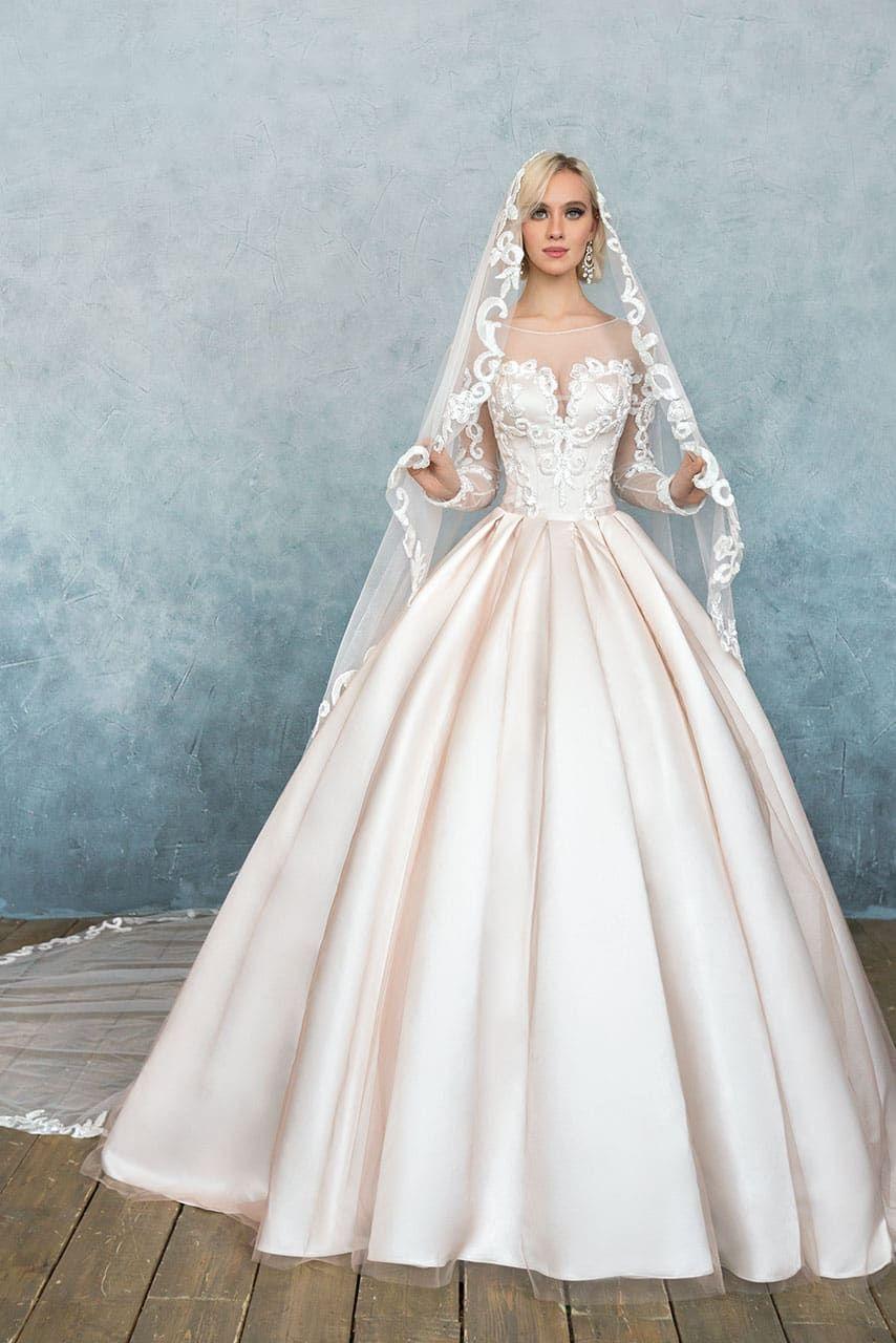 936dc19a2093822 Свадебное платье Анна Кузнецова Leonna ▷ Свадебный Торговый Центр Вега в  Москве