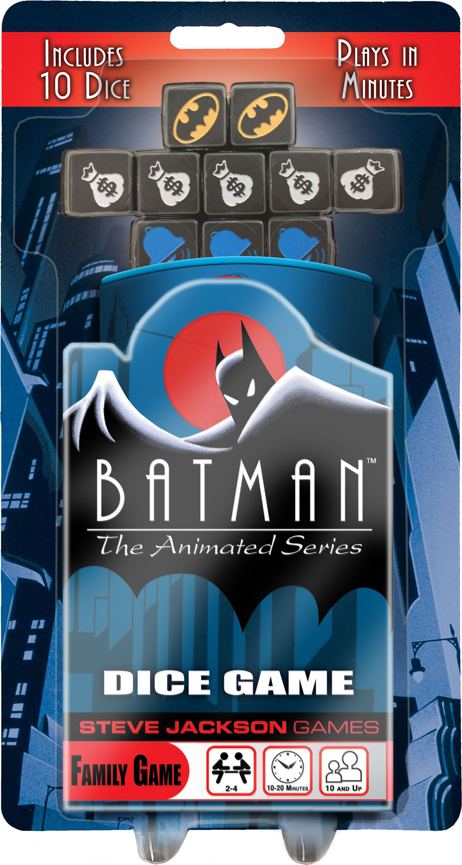 Batman The Animated Series Dice Game Batman the