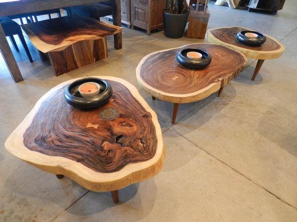 3 Round Coffee Tables