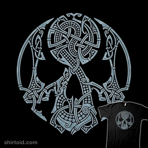 Viking Horse Design With Images Viking Symbols Norse Tattoo