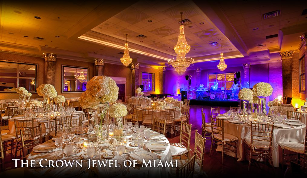 The Coral Gables Country Club Miami Wedding Venue Florida Wedding