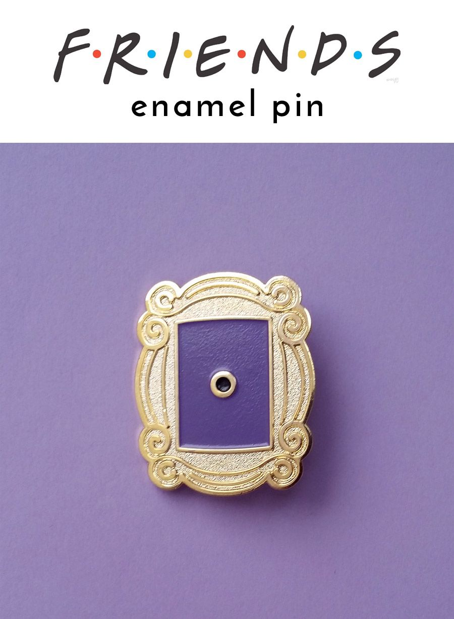 Friends Peephole Frame enamel pin - if you\'re a fan of this funny TV ...