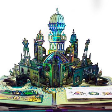 I Liked This Design On Fab The Wonderful Wizard Of Oz Pop Up Art Pop Up Book Pop Up
