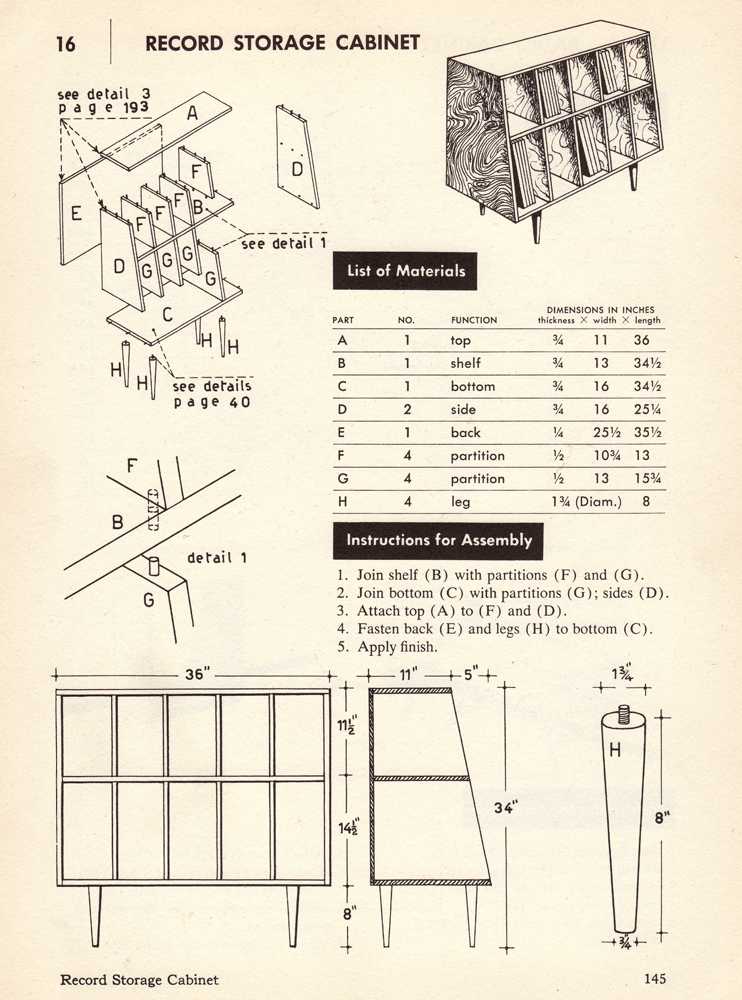 Shed Plans Buy Or Build Meuble Vinyle Stockage De Vinyle Rangement Vinyle