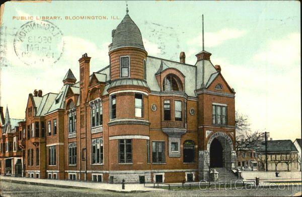 Public Library Bloomington Il Bloomington Illinois Bloomington Public Library