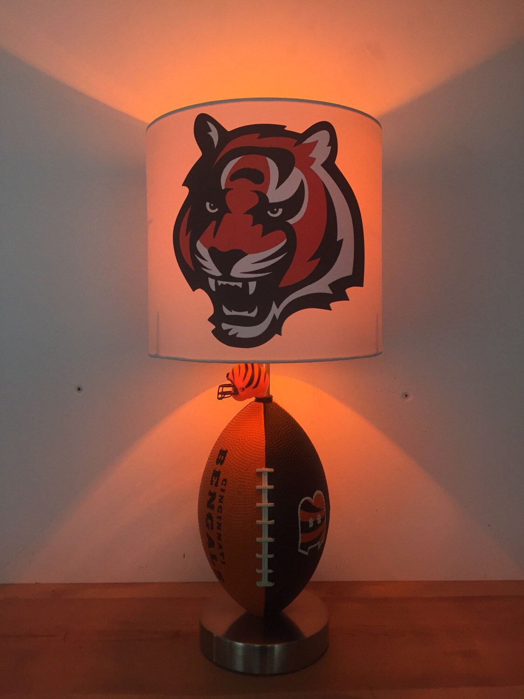 Cincinatti bengals football lamp nfl light kids night
