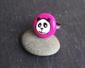 Bague panda rose  Panda bear pink ring    8,00 euros