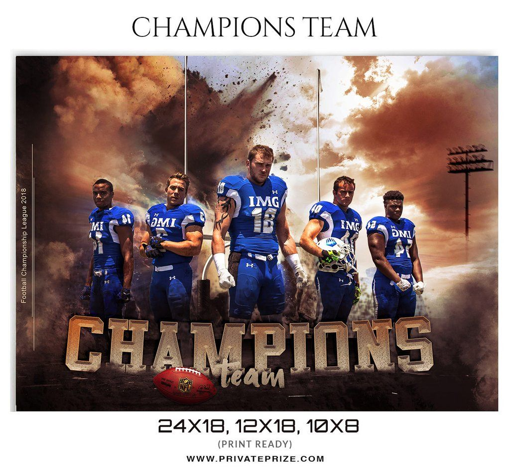 Champions Themed Sports Template Sports Templates Sports Sports Photography