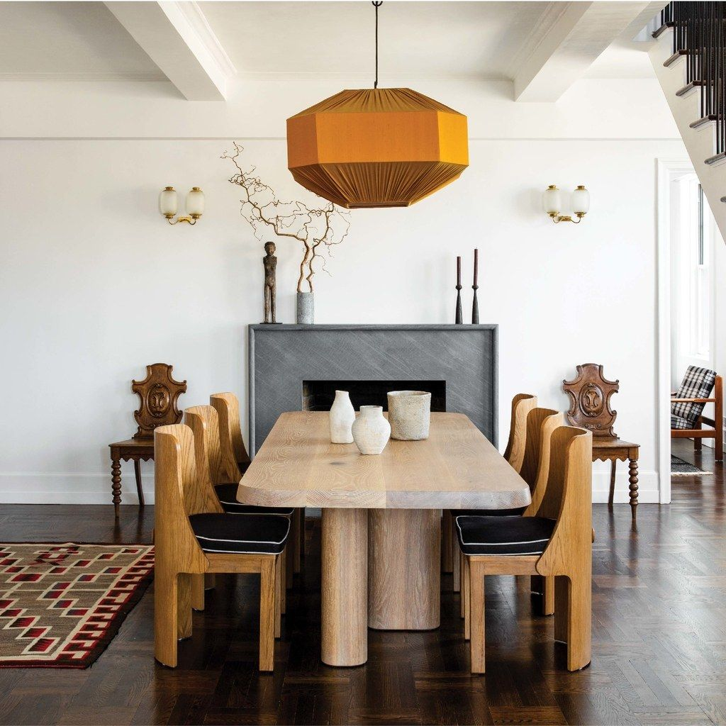 Feast Your Eyes Gorgeous Dining Room Decorating Ideas: Step Inside Seth Meyers's Manhattan Duplex