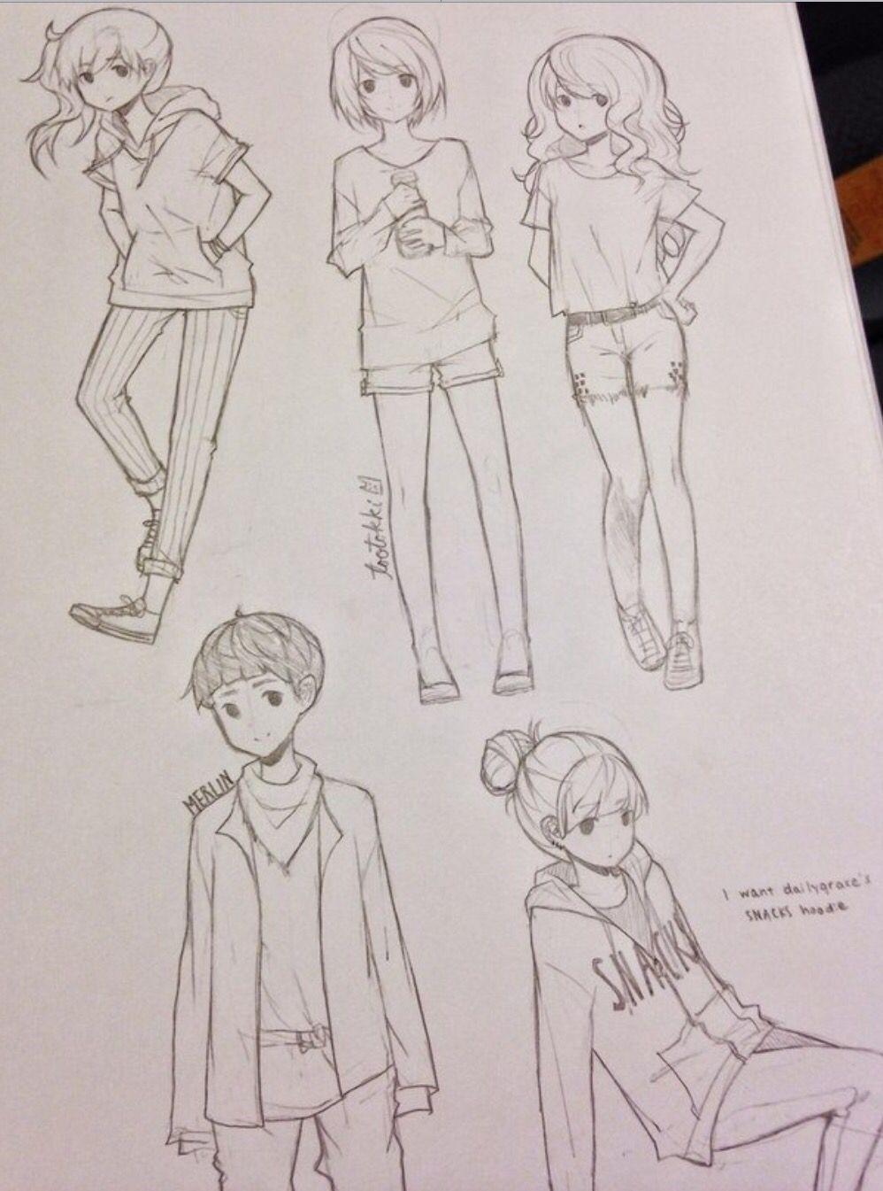 Anime sketches tootokki Dibujos de anime, Dibujos a