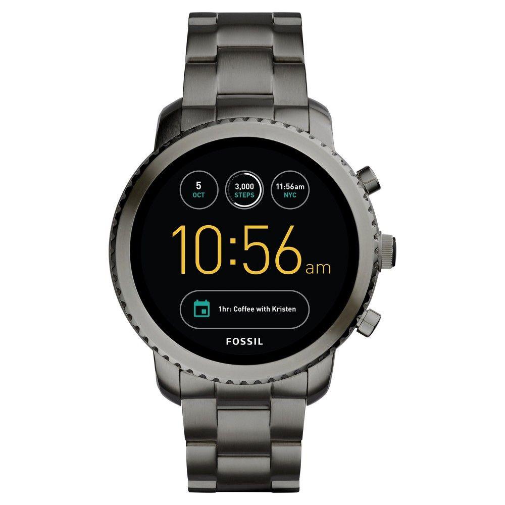 Fossil Gen 3 Smartwatch Q Explorist 45mm Smoke Stainless