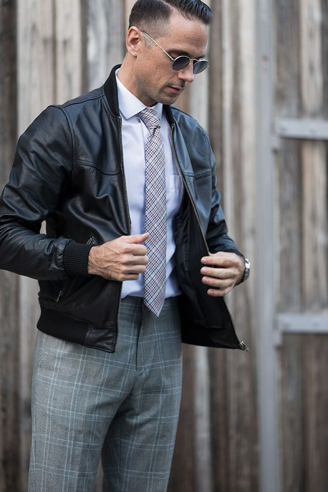Dress Up Your Leather Jacket | Leather jackets