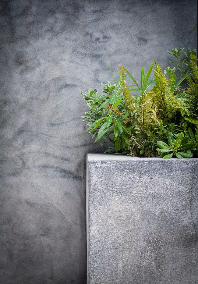 Concrete Breeze Block Wall Wall Exterior Cement Render