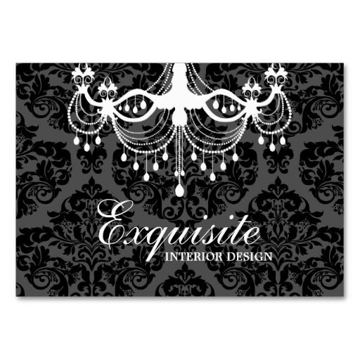 311 white chandelier damask business card business cards damasks 311 white chandelier damask business card reheart Gallery
