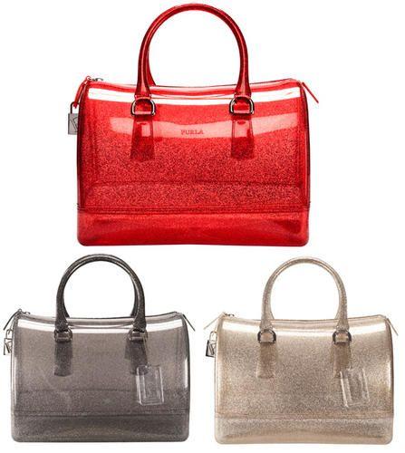 Furla satchel... so sparkly it makes me happy♥♥
