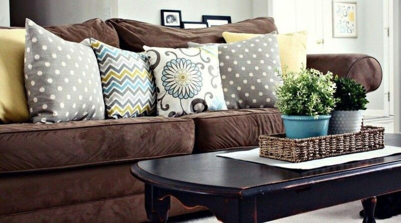 Cool Brown Sofa Ideas For Living Room Decor 42 Brown Living Room Decor Brown Couch Living Room Brown Sofa Living Room