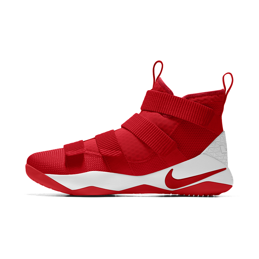 280ee0aa947a Nike LeBron Soldier XI iD Men s Basketball Shoe Size 13.5 (Red ...