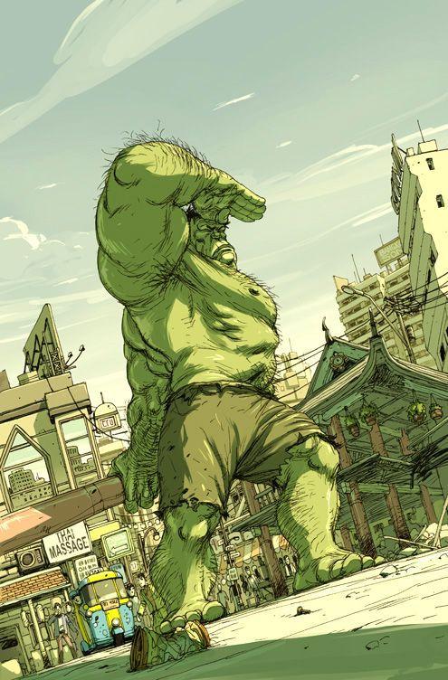 #Hulk #Fan #Art. (Hulk: Superheroes) By: Niko Henrichon. (THE * 5 * STÅR * ÅWARD * OF: * AW YEAH, IT'S MAJOR ÅWESOMENESS!!!™)[THANK Ü 4 PINNING!!!<·><]<©>ÅÅÅ+(OB4E)