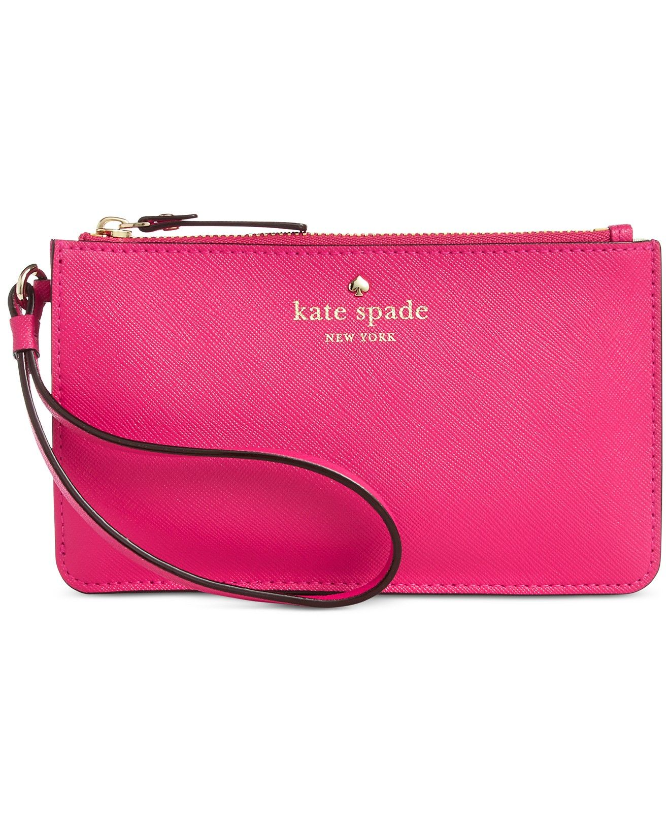 ad63132246ed kate spade new york Cedar Street Slim Bee Wristlet - Handbags   Accessories  - Macy s