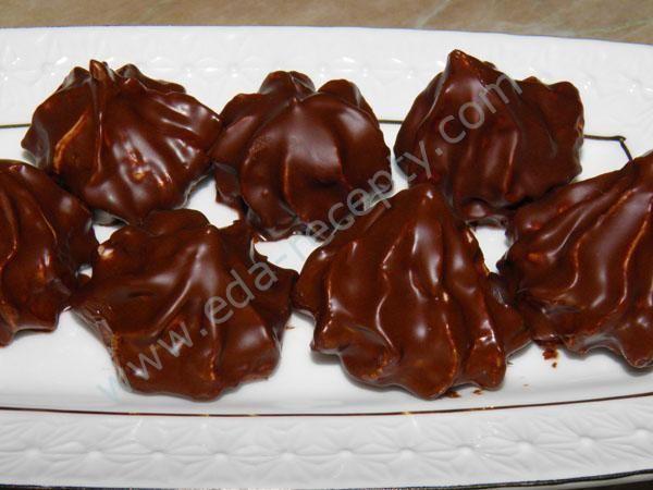 зефир в шоколаде рецепт с фото