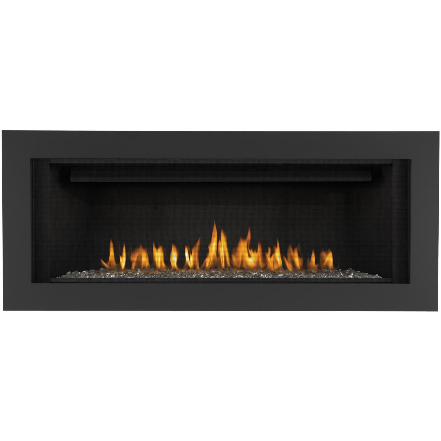 Napoleon linear inch builtin direct vent propane gas fireplace w