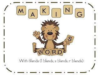 First Grade and Fabulous: Making Words