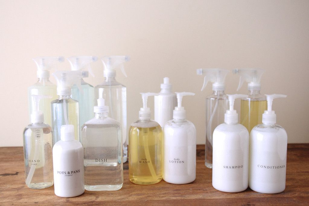 Everyday Essentials: Love this simple, clean idea to replace the bright  colored shampoo bottles. | Bath. | Pinterest | Shampoo bottles, Bottle and  ...