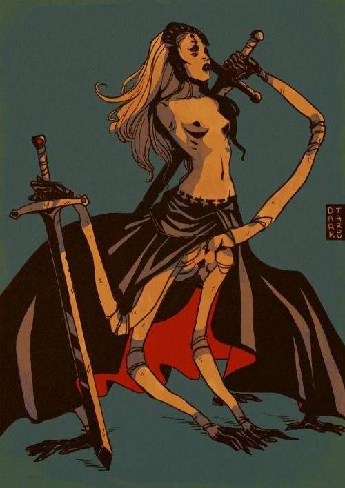 dark-tarou:  The Stalk from Saga, best looking character in the comic! *o* website | deviantart | facebook | twitter | society6 | inprnt