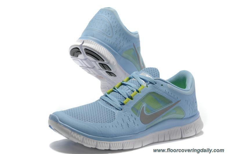 promo code 26e05 cefc9 Discounts 510643-306 Nike Free Run 3 Prism Blue Reflect Silver Pure Platinum  Volt Womens