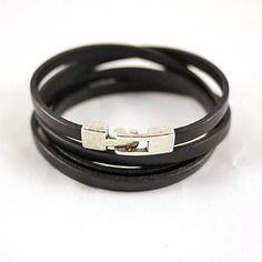 Bracelet femme en cuir