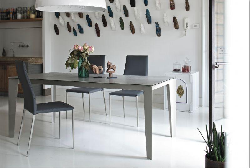Tavolo Cruz 01.87 L. 160 x P. 90 cm tavoli moderni allungabili ...