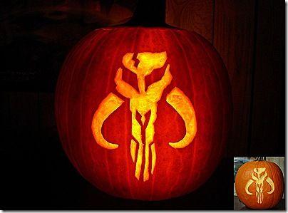 8 great boba fett pumpkin carvings star wars halloweenhalloween partyhalloween ideaspumpkin - Star Wars Halloween Pumpkin Carving Patterns