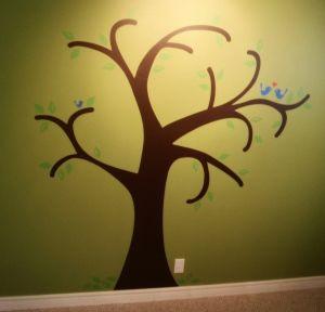Baby S Room Vinyl Tree Vinyl Wall Tree Tree Wall Baby Room
