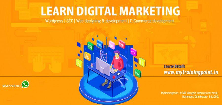 Advanced Course In Digital Marketing Web Design In Coimbatore Digital Marketing Marketing Courses Web Marketing
