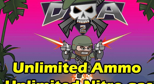 doodle army 2 mod apk unlimited health and ammo download free