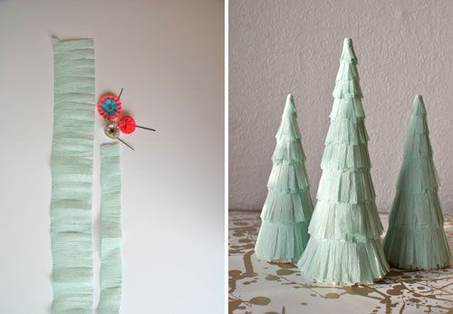 9th Day Of Christmas Crafts: Flapper Trees