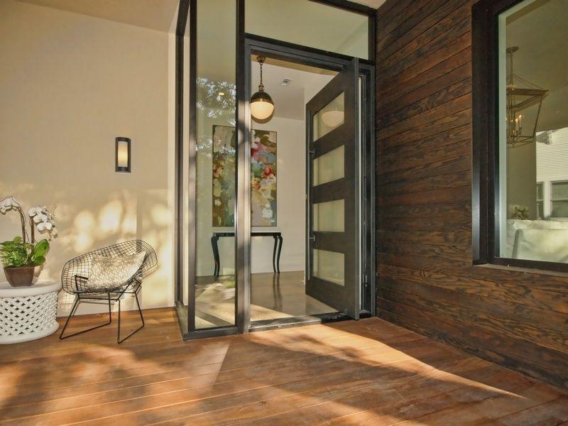 front door tavernContemporary Front Door with Glass panel door Transom window