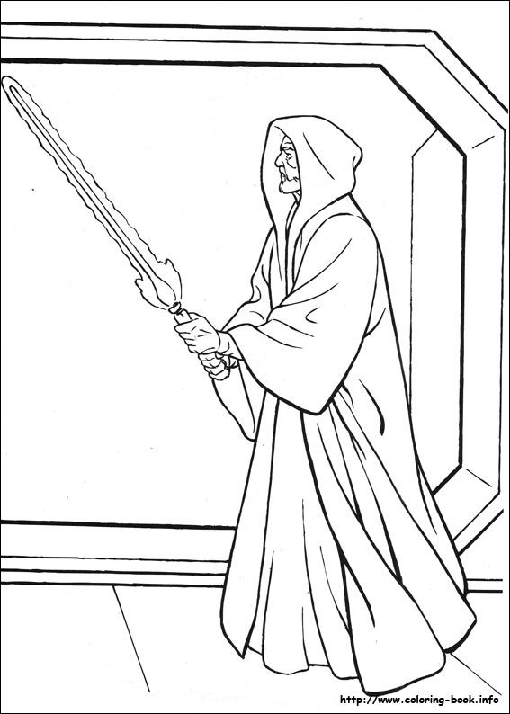 Star Wars coloring picture | LineArt: Star Wars | Pinterest | Star