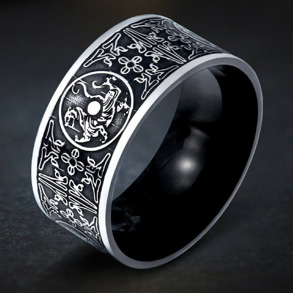 Stainless Steel Norse Ring Beautiful jewelry ring, Rings