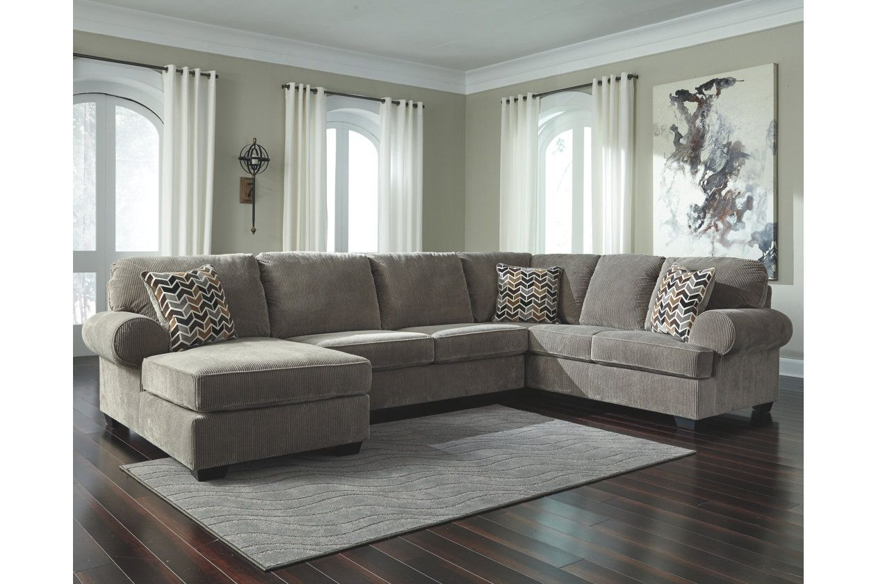 Jinllingsly 3 Piece Sectional Ashley Furniture Homestore Living Room Sectional Comfortable Furniture 3 Piece Sectional Sofa