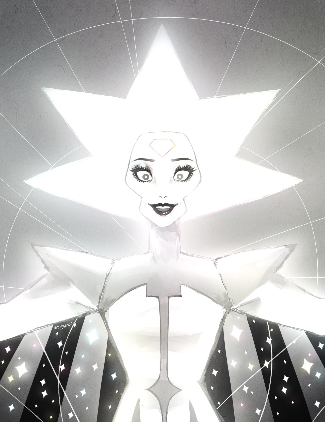 White Diamond Is Terrifying Steven Universe Diamond Steven Universe Fanart Steven Universe Comic