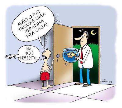 Nivaldo Cartuns: Mal Entendido