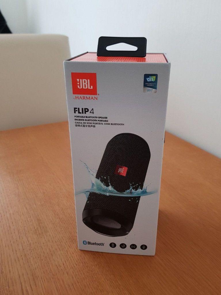 Jbl Flip 4 Portable Bluetooth Speaker Black Brand New And Free Shipping Bluetooth Speakers Portable Bluetooth Jbl