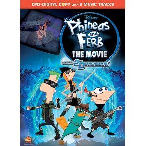 Phineas Ferb The Movie Across The 2nd Dimension Phineas And Ferb Movie Phineas And Ferb Walt Disney Movies
