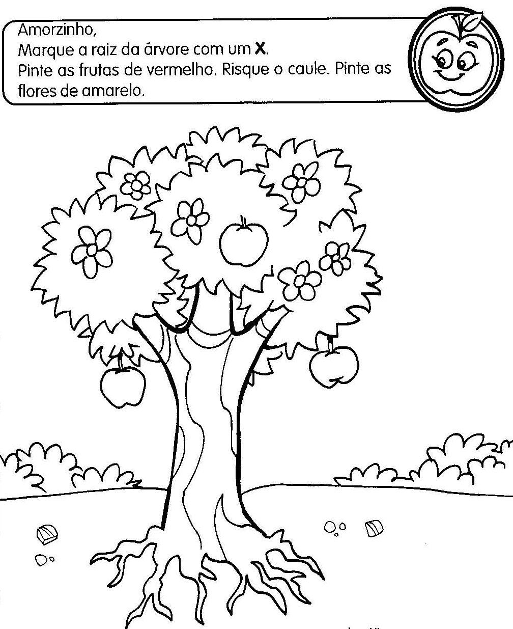 Fabuloso atividades sobre as partes da planta para educação infantil  IZ55