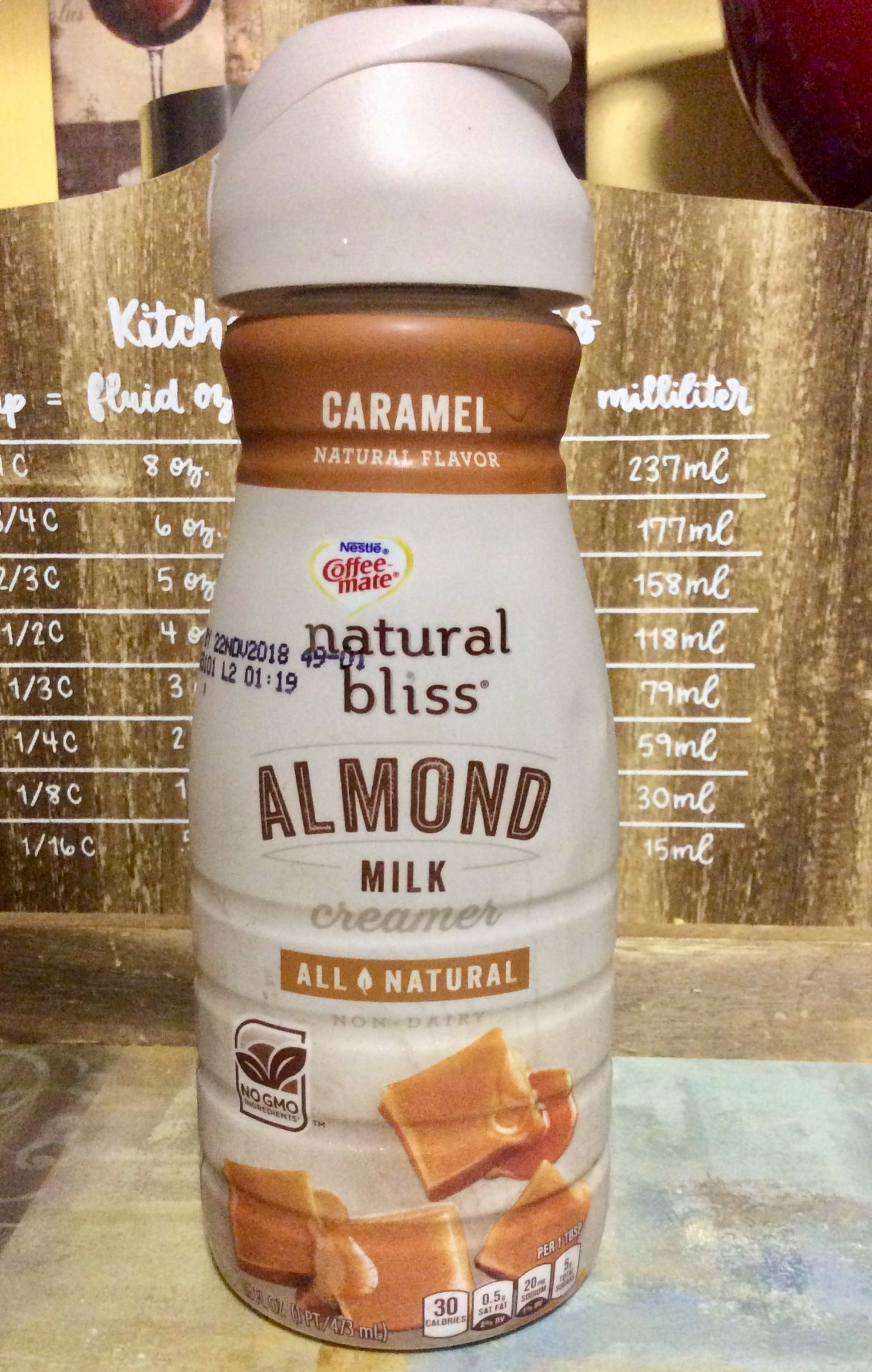 CoffeeMate Natural Bliss Caramel Almond Milk Creamer