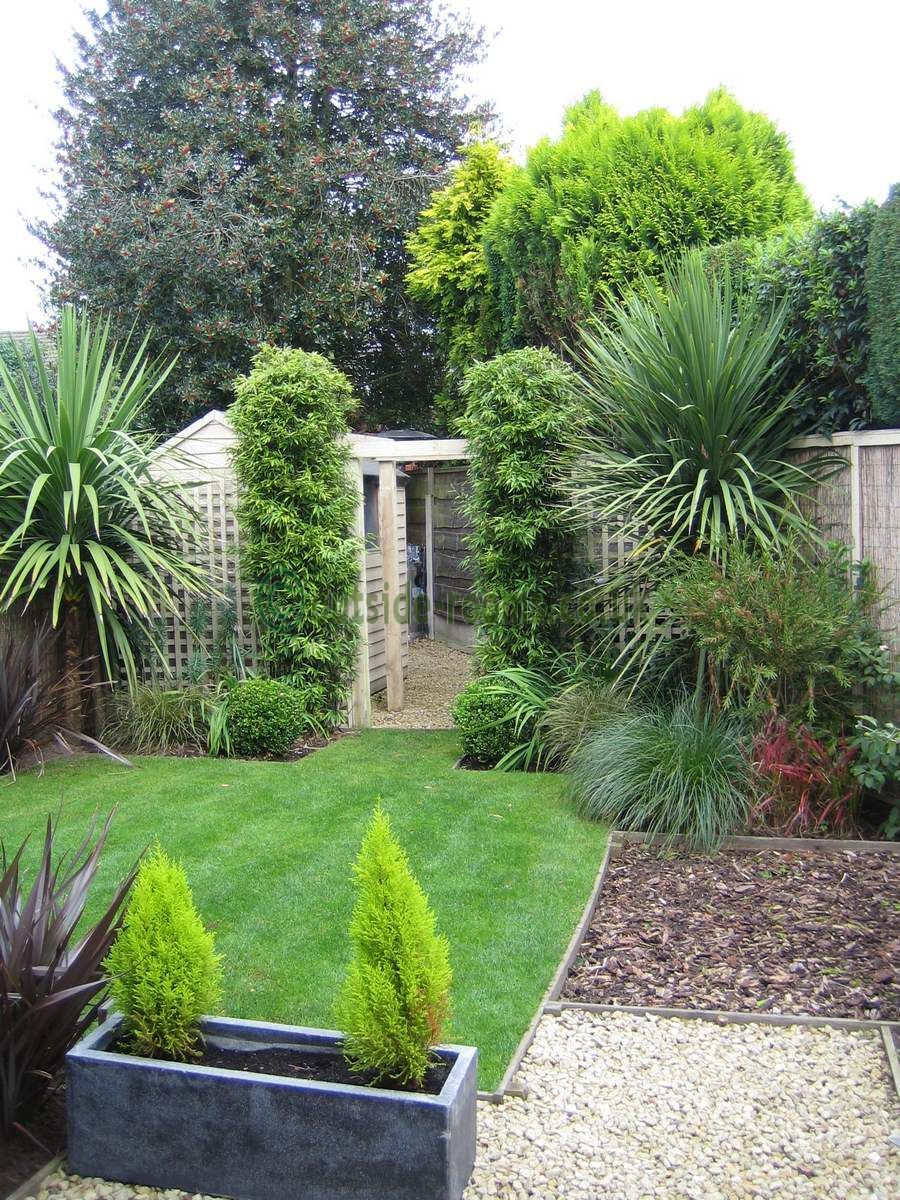 design tips awkwardly shaped gardens. these types of gardens can