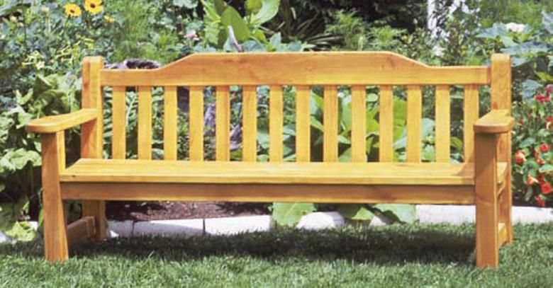 Pleasant Classic Garden Bench Diy Gardening Things To Build Spiritservingveterans Wood Chair Design Ideas Spiritservingveteransorg